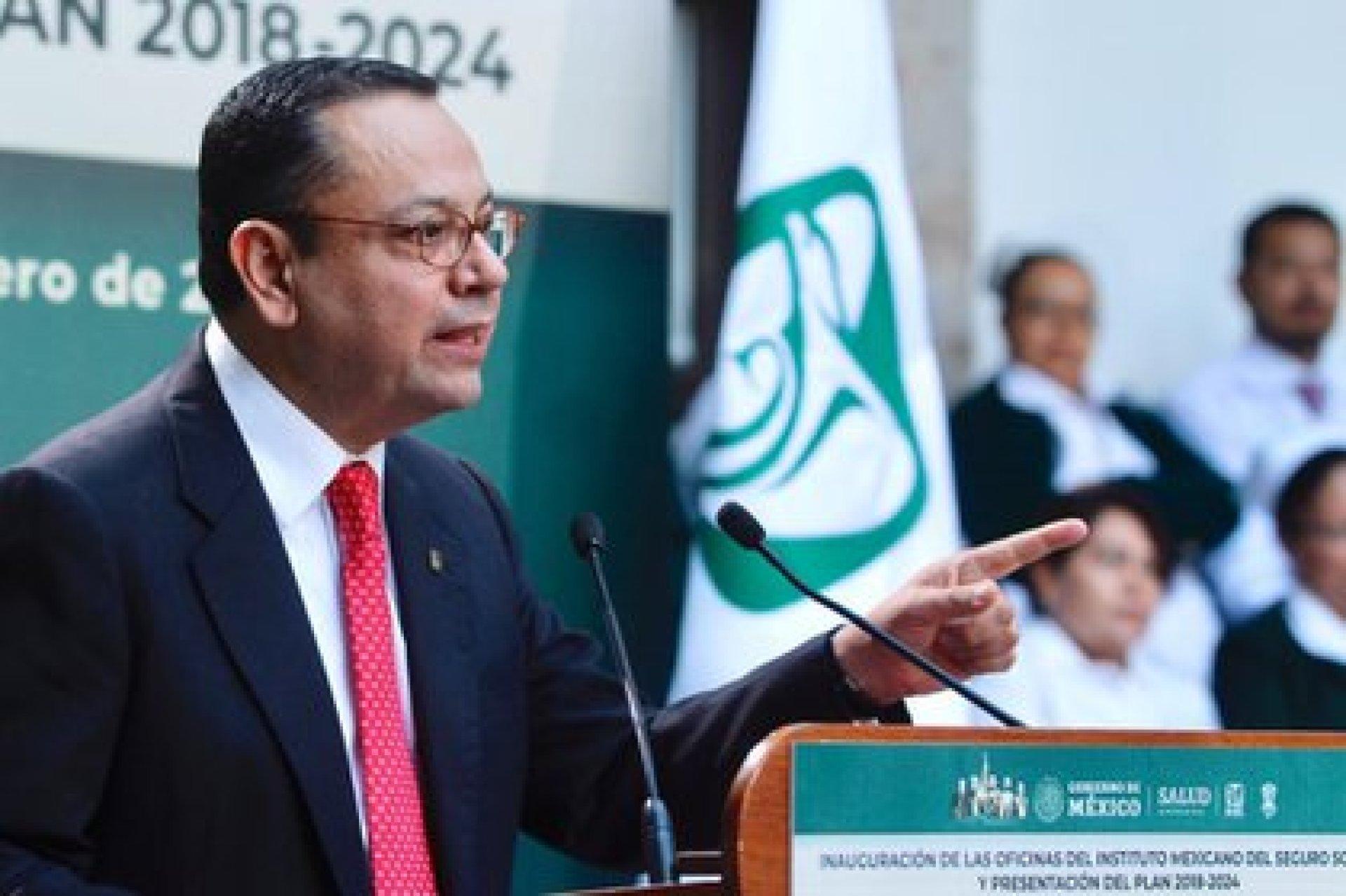 Germán Martínez renunció como director general del IMSS (Foto: Archivo)