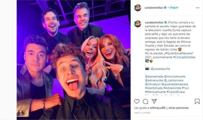 (Foto: Instagram: @CanalEstrellas)