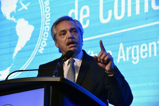 El presidente Alberto Fernández se diferenció del proyecto que busca intervenir el Poder Judicial de Jujuy. (Prensa CICyP)