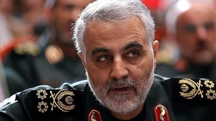 Qassem Soleimani, líder del Cuerpo de la Guardia Revolucionaria Islámica de Irán y de la Fuerza Quds, rama para operaciones en el extranjero