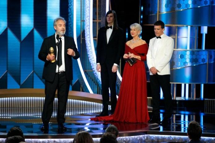Sam Mendes (Paul Drinkwater/NBC Universal/Handout via REUTERS)