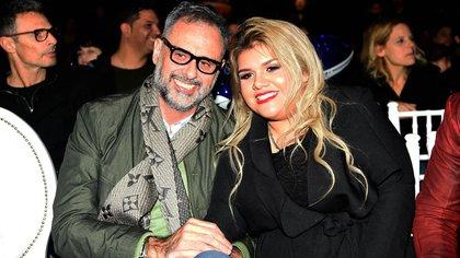 Jorge Rial junto a su hija, Morena