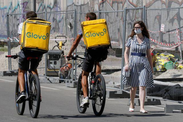 Glovo: la empresa de delivery le vendió su negocio local a Pedidos Ya (REUTERS/Valentyn Ogirenko/File Photo)