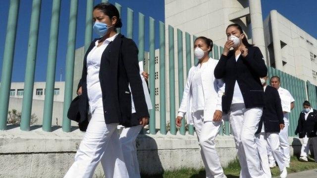 El gobierno hace un llamado a personal médico para unirse a brigadas contra el coronavirus (Foto: Cuartoscuro)