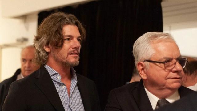 Nicolás Scioli, hermano del ex vicepresidente, estuvo presente en el ND Teatro