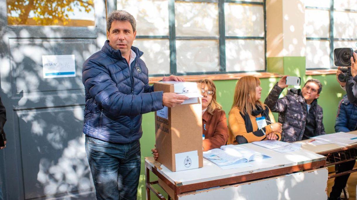 El gobernador de San Juan, Sergio Uñac, busca la reelección