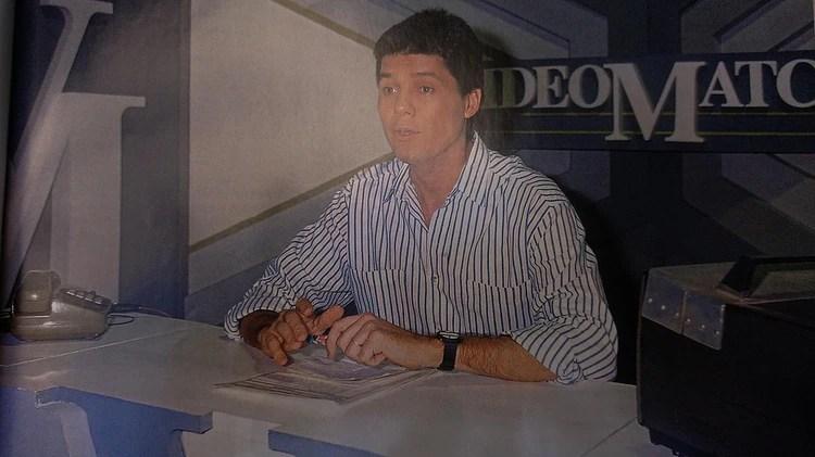 "Marcelo Tinelli en los comienzos de ""VideoMatch"" (Foto: Ideas del Sur)"