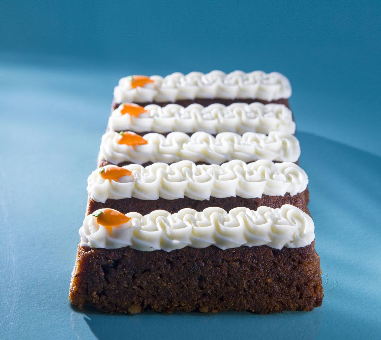 Mini carrot cake con frosting (Gout Gluten Free)