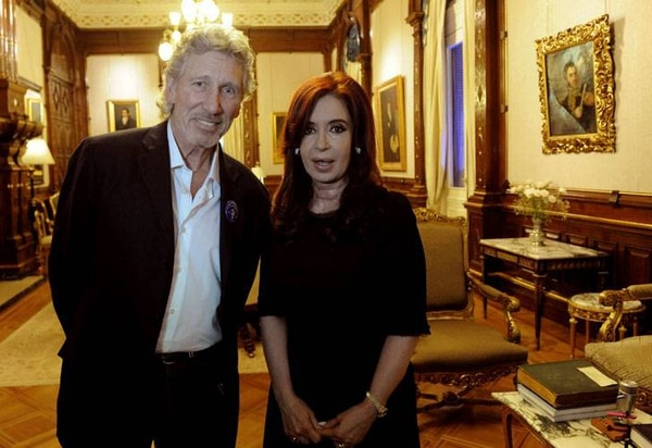 Roger Waters y Cristina Kirchner