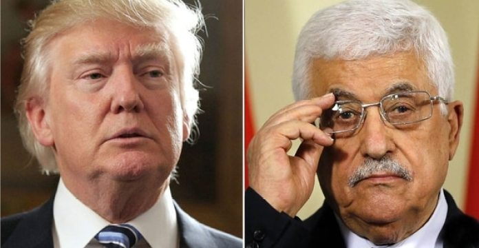 Donald Trump y Mahmud Abbas
