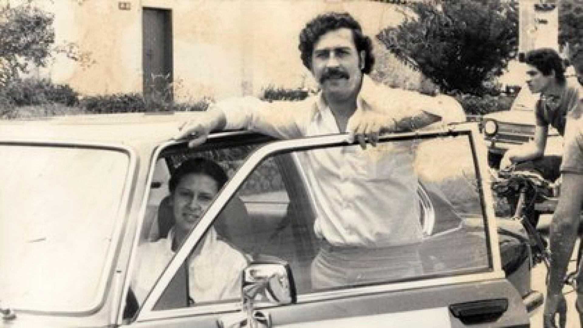 Pablo Escobar y su esposa María Victoria Henao