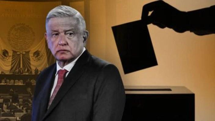 El presidente Andrés Manuel López Obrador se juega su proyecto político en las elecciones del 6 de junio de 2021 (Fotoarte: Jovani Pérez Silva/ Infobae México)