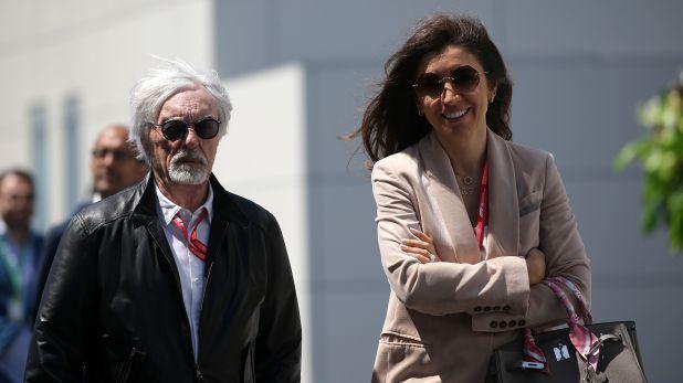 Bernie Ecclestone  y Fabiana Flosi se casaron en 2012 (Shutterstock)