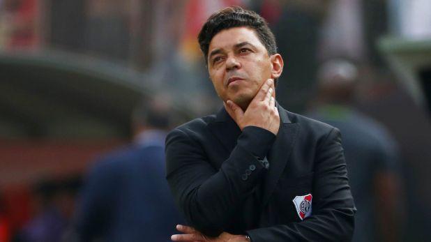 Marcelo Gallardo se mostró disgustado porque en Argentina todavía no hay debate por el regreso del fútbol y los entrenamientos (REUTERS/Pilar Olivares)