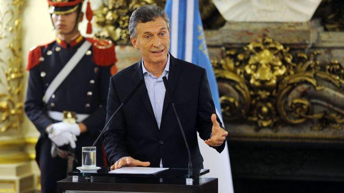 El ex presidente Mauricio Macri (Foto: Télam)