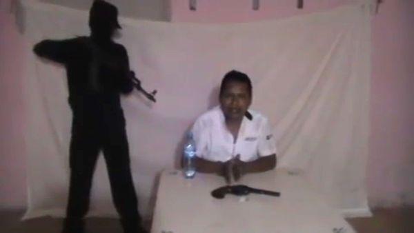 Un taxista ejecutado en Cancún en febrero pasado. (Foto: YouTube/Captura)