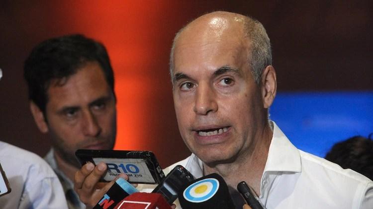 Horacio Rodríguez Larreta, jefe de gobierno de la Ciudad