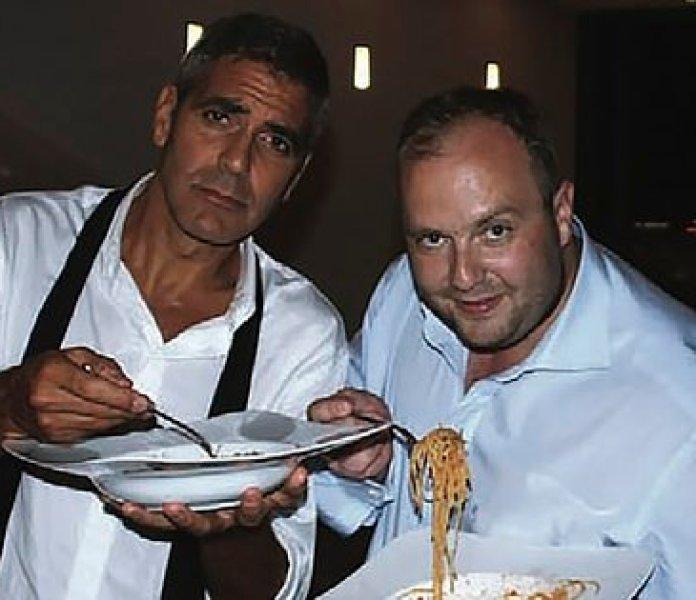 Con George Clooney