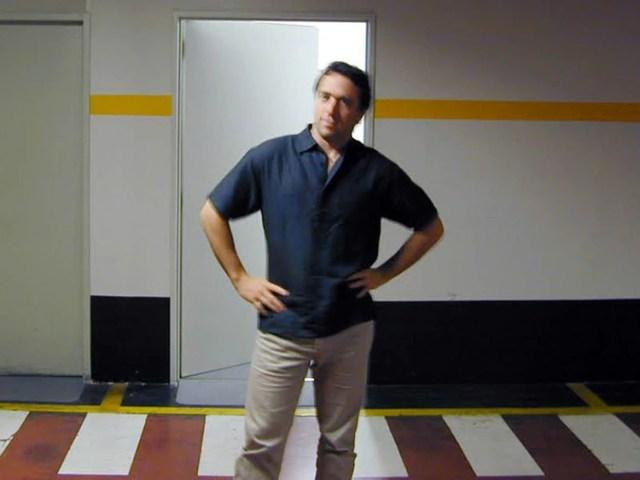 Galperin hace 20 años, en la primera oficina de su empresa