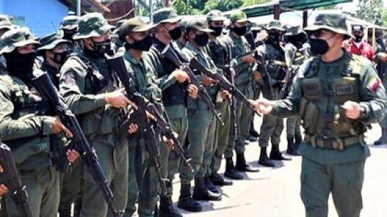 Comandante de la Guardia Nacional, Zavarse Pabón, en Apure en relevo de los puestos fronterizos