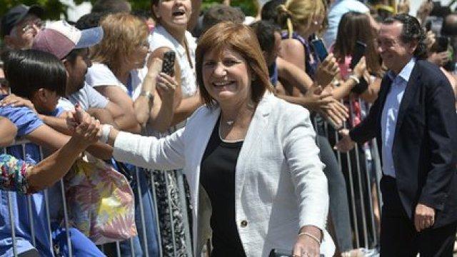 La presidenta del PRO, Patricia Bullrich