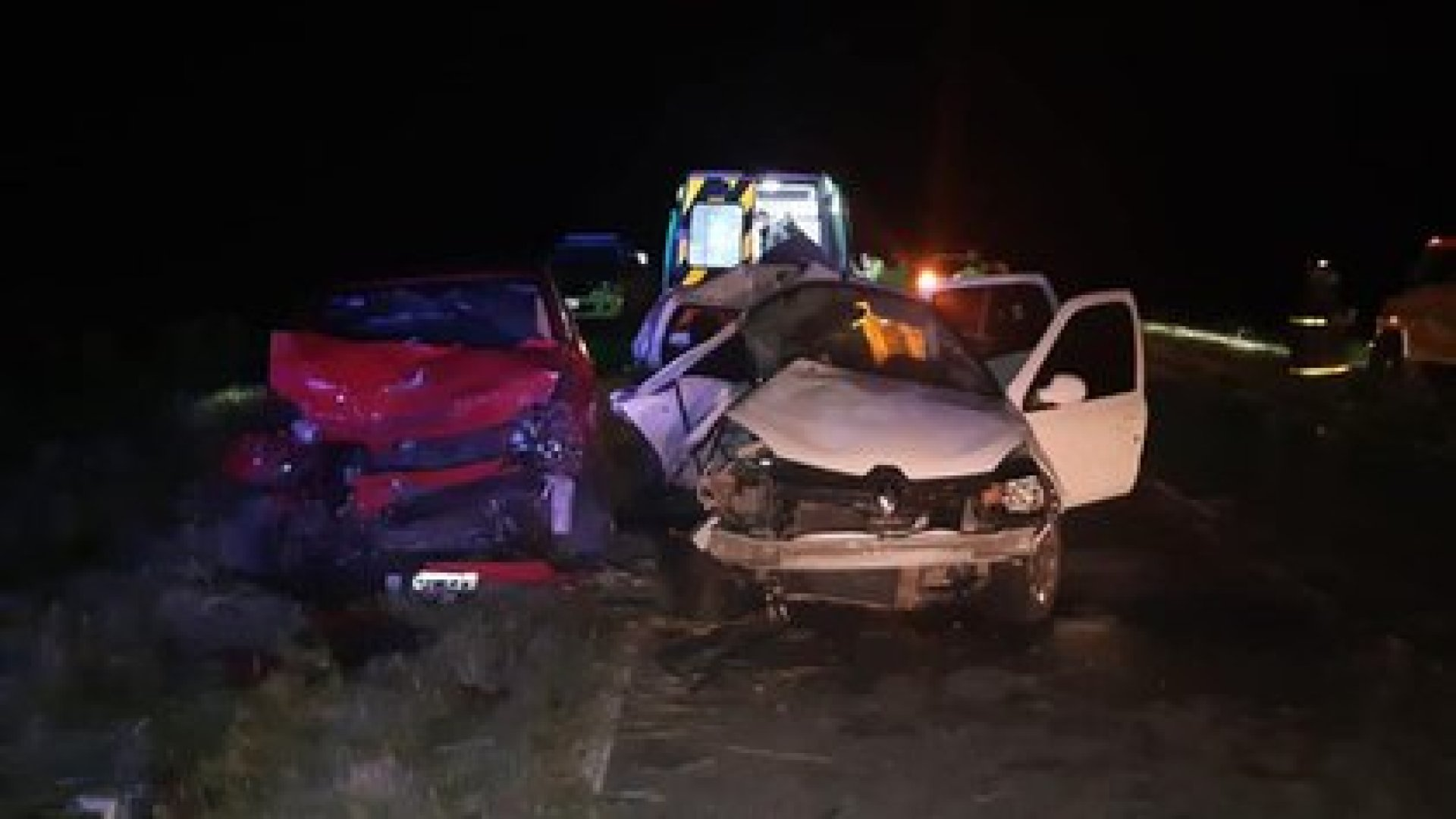 El accidente se produjo cerca de las 22 del viernes en el kilóemtro 5 de la Ruta 56, a la altura de General Conesa