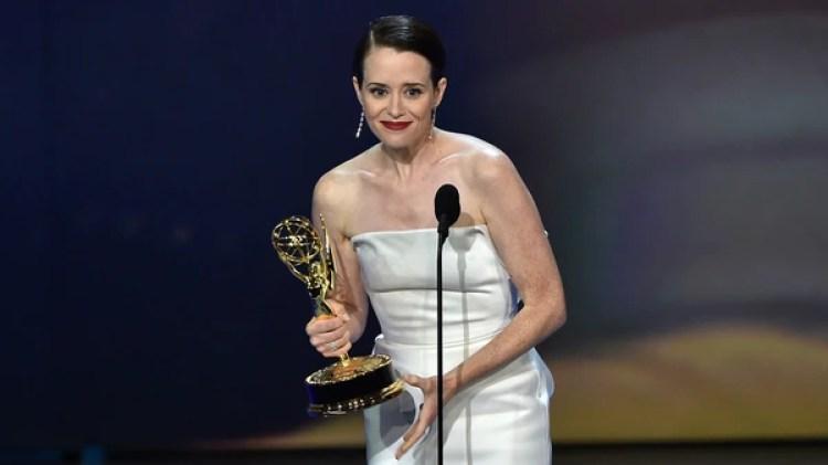 """Claire Foy ganó como mejor actriz dramática por """"The Crown"""" de Netflix"""