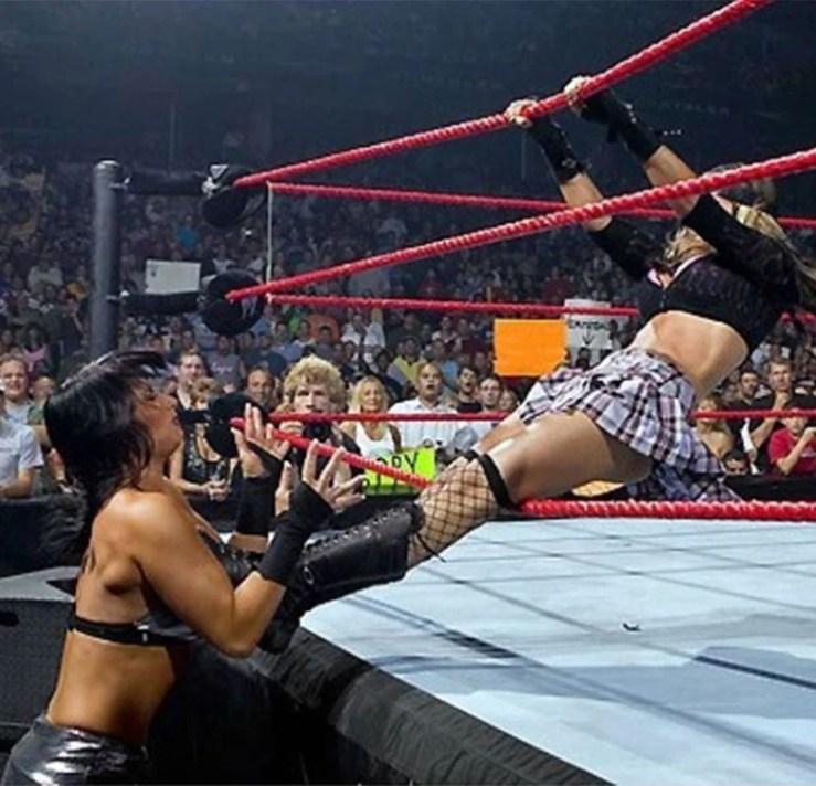 La WWE la recordó en su página web oficial