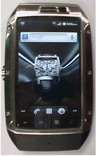 El modelo del celular de USD 1,300 decomisado al Periente (Foto: captura de pantalla)