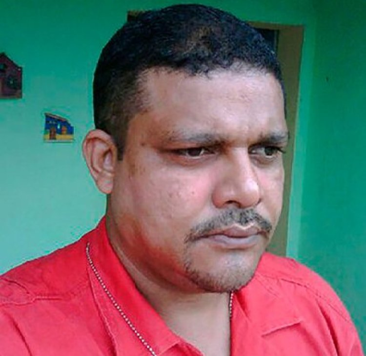 Marcos Sabariego, dirigente de El Palito quien permanece detenido