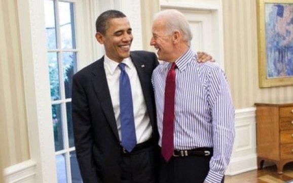 Biden, durante su período como vicepresidente de Barack Obama, en la Casa Blanca