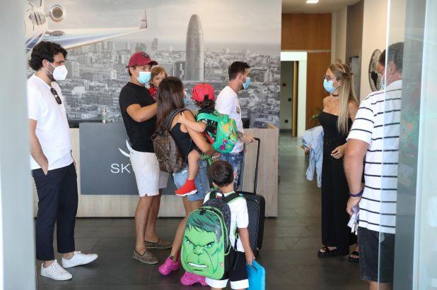Messi vacaciones en ibiza SF