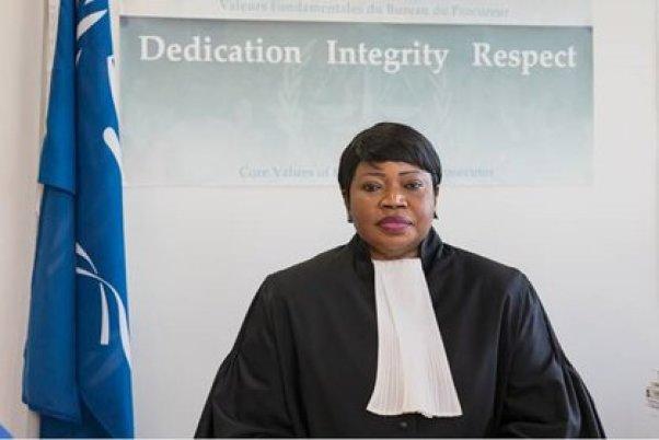 Fatou Bensouda, fiscal jefe del Tribunal Penal Internacional que investiga las violaciones a los derechos humanos en Venezuela