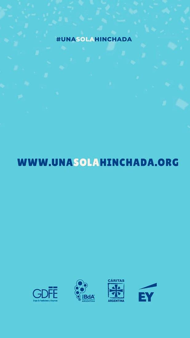 Una sola hinchada, es el nombre de la campaña que buscará asistir a las personas carenciadas y que más se vieron afectadas por el aislamiento obligatorio en Argentina