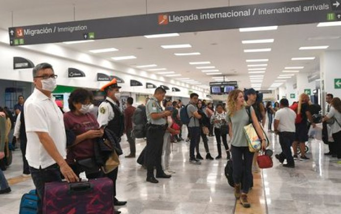 International travelers left USD 466.8 million in the country in the eighth month of 2020, while in August 2019 they spent USD 1,752.6 million.  (Photo: EFE)