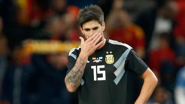 Pablo Pérez no logró ganarse un lugar en la gira ante España e Italia (AP)