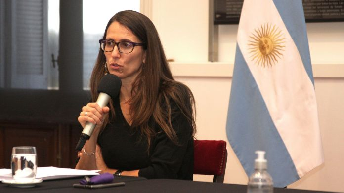 Elizabeth Gomez Alcorta - ministra de las Mujeres, Géneros y Diversidad de la Nación