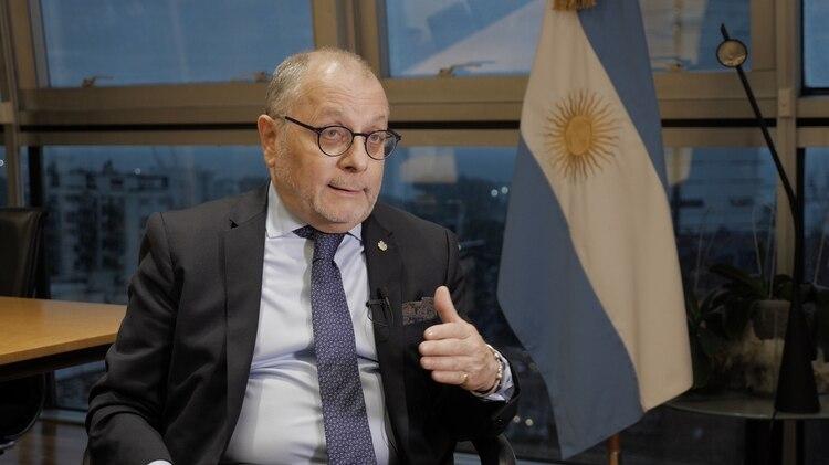 El canciller Jorge Faurie