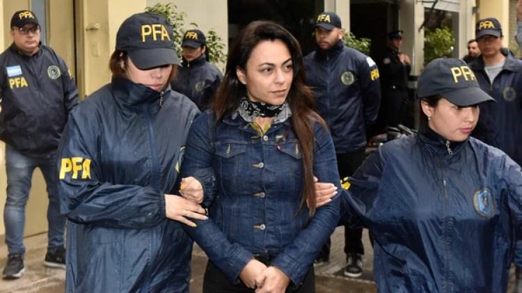 Carolina Pochetti, la viuda de Muñoz (foto Adrián Escandar)
