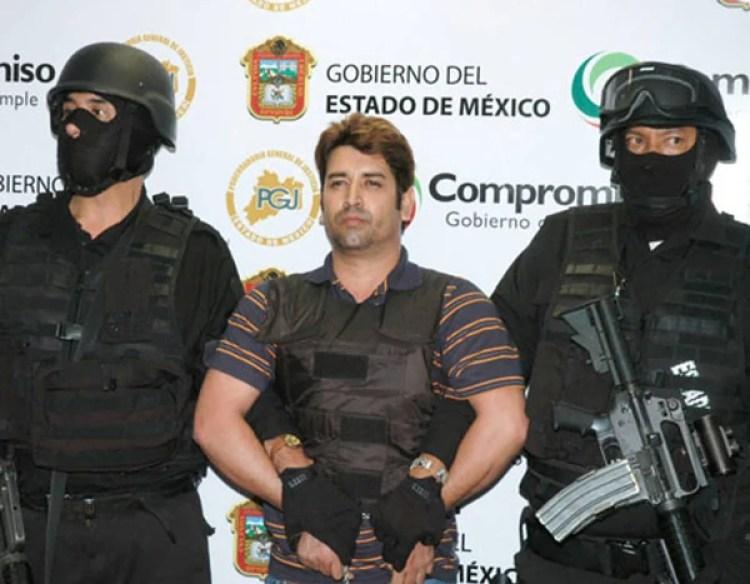 Óscar Osvaldo García Montoya, El Compayito o La Mano con Ojos. Trabajaba en el Estado de México para el Cártel de los Beltrán Leyva.