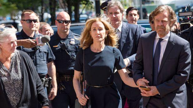 Huffman se declaró culpable en la multimillonaria trama (Foto: Archivo)