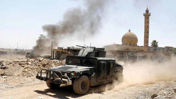 Solo queda un kilómetro cuadrado en poder de ISIS, según los comandantes iraquíes