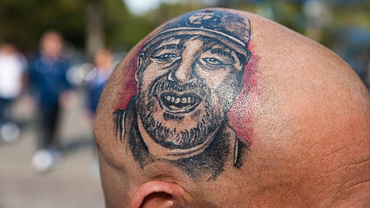 Con Maradona en la cabeza. (Franco Fafasuli)