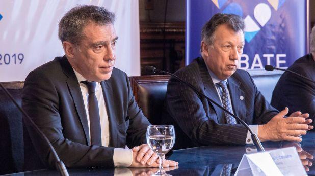 Los camaristas electorales Santiago Corcuera y Alberto Dalla Vía deberán resolver para el jueves a la mañana (Universidad Nacional Litoral)