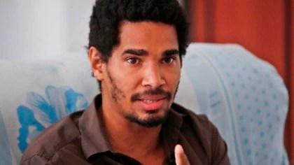 Luis Manuel Otero Alcántara, artista, disidente y líder del Movimiento San Isidro (EFE/ Yander Zamora)
