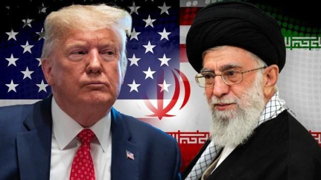 El presidente de Estados Unidos, Donald Trump, y el líder supremo de Irán, ayatolá Ali Khamenei