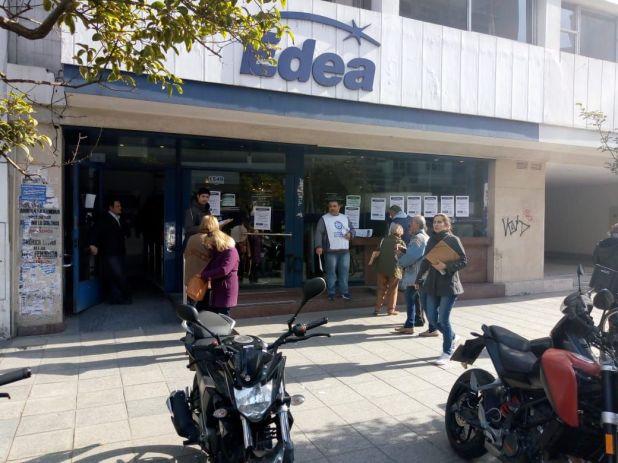 Edea, la otra distribuidora de la Provincia de Buenos Aires que está bajo investigación (Foto @luzyfuerzamdp)