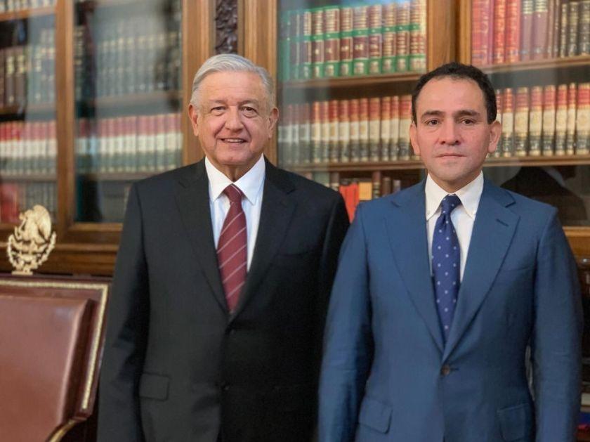 López Obrador nombró a Artuero Herrera como sucesor de Carlos Urzúa (Foto: Especial)