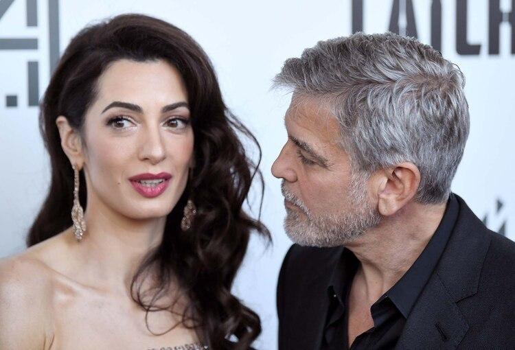 George Clooney y Amal Alamuddin (Foto: James Veysey/Shutterstock)