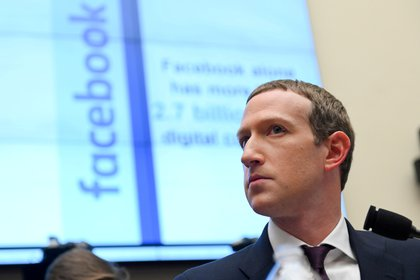 Mark Zuckerberg, fundador de Facebook. REUTERS